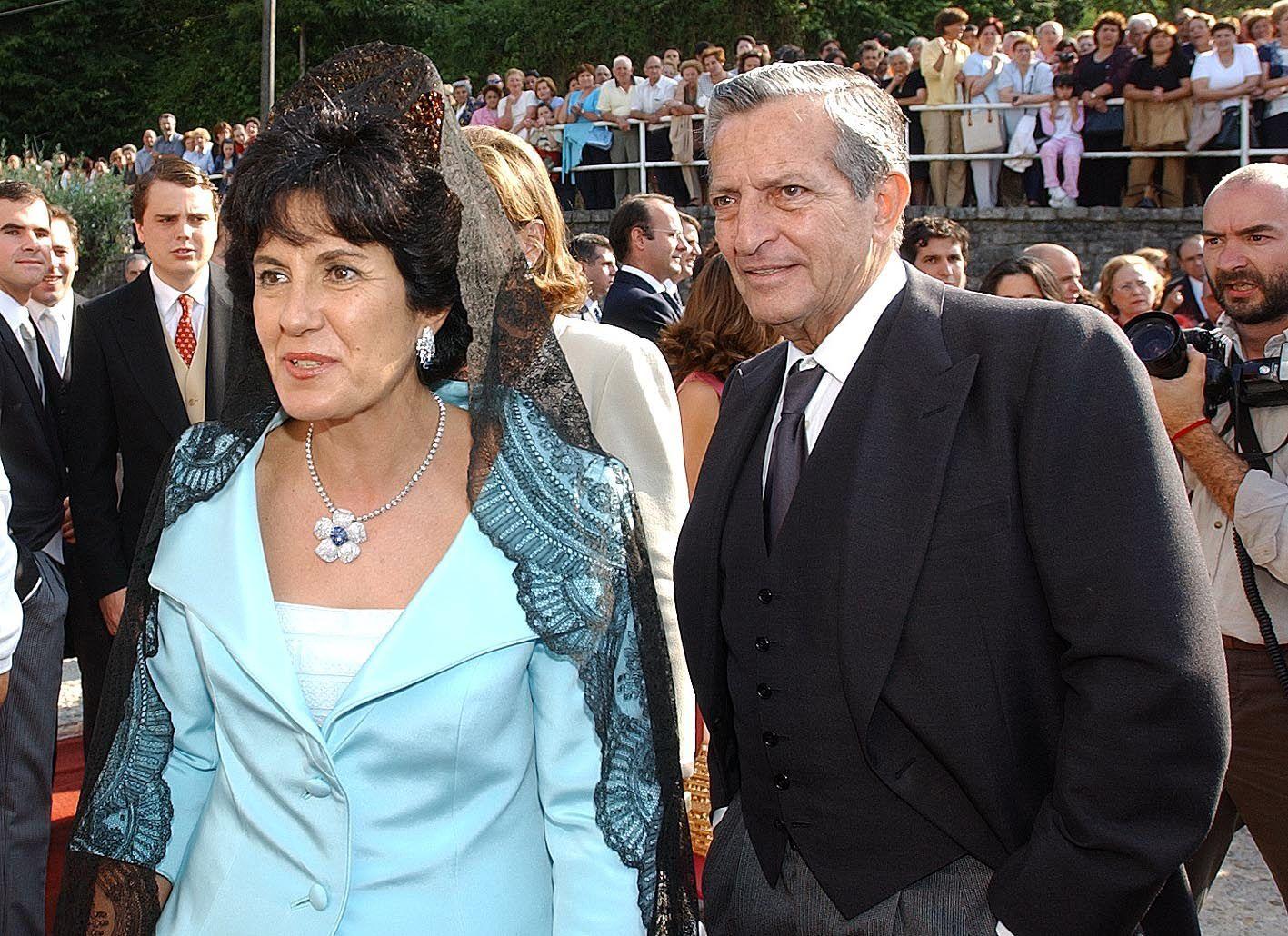 La boda de ¡Hola! que congregó a numerosos famosos se celebró en Redondela