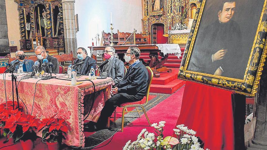 Mazuelos destaca el trabajo del venerable Antonio Vicente González en epidemias
