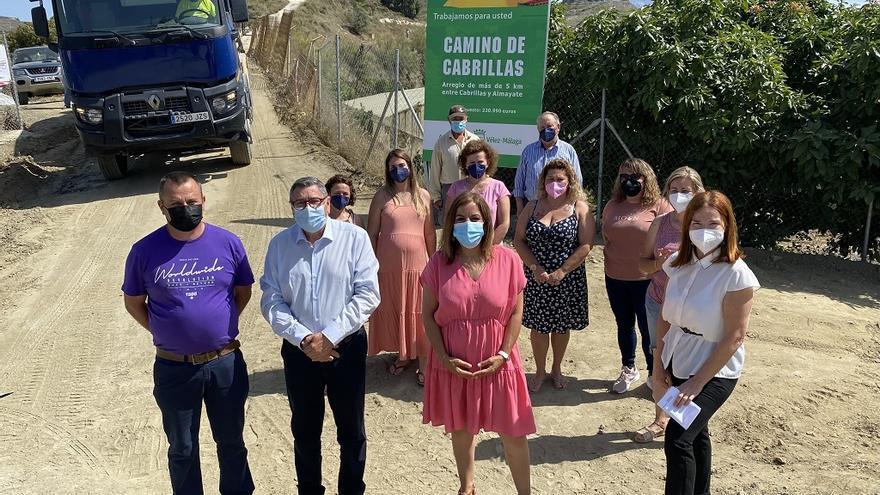 Vélez-Málaga inicia las obras de mejora del camino de las Cabrillas