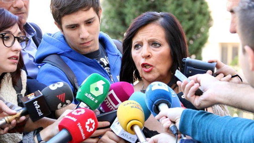 El jutjat admet el recurs d'apel·lació de Pilar Abel