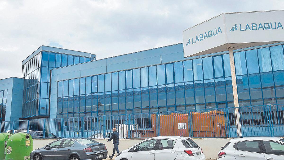 Imagen de la sede de los laboratorios Labaqua