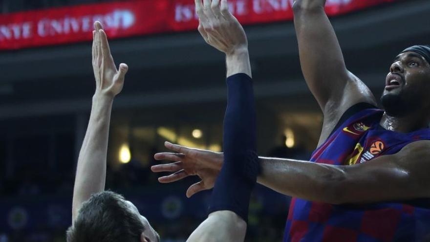 El Barça reprèn el camí de la victòria derrotant un Fenerbahçe molt dur
