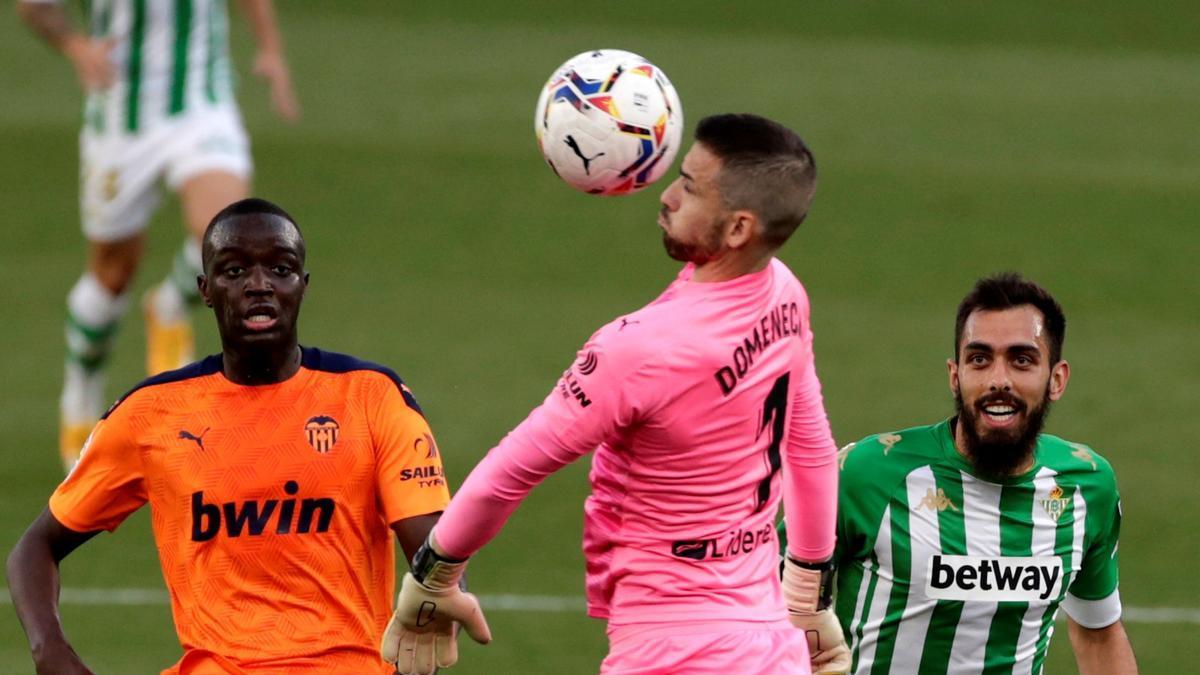 Una imagen del Betis - Valencia.