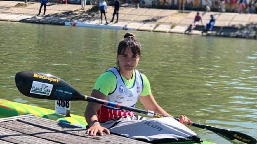 Sara Ouzande, la gijonesa que casi hace quedarse en casa a la olímpica más grande
