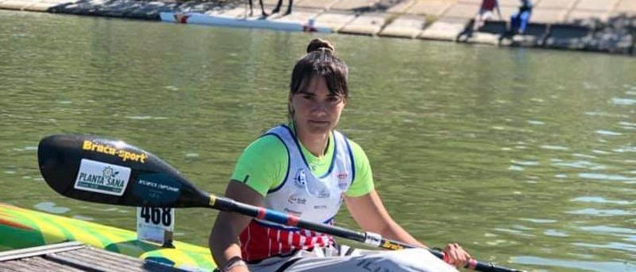 La gijonesa Sara Ouzande.
