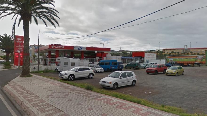 La gasolinera Cepsa de Escaleritas será un bulevar de 6.000 metros cuadrados