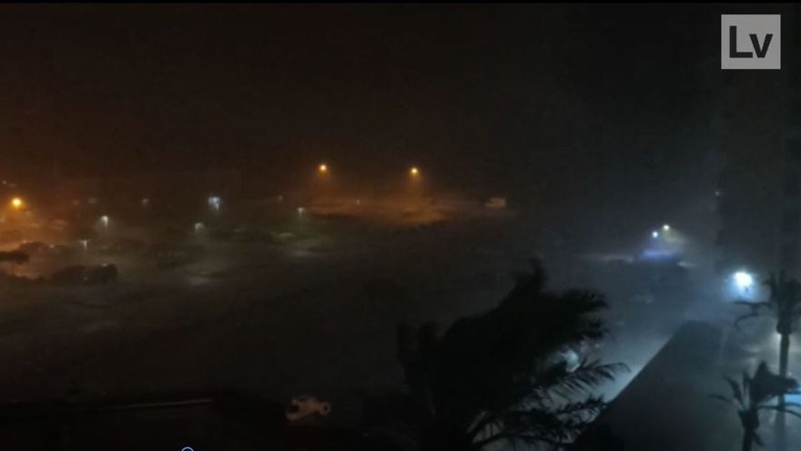 Rescates de vehículos, achiques y garajes inundados, principales problemas de la lluvia