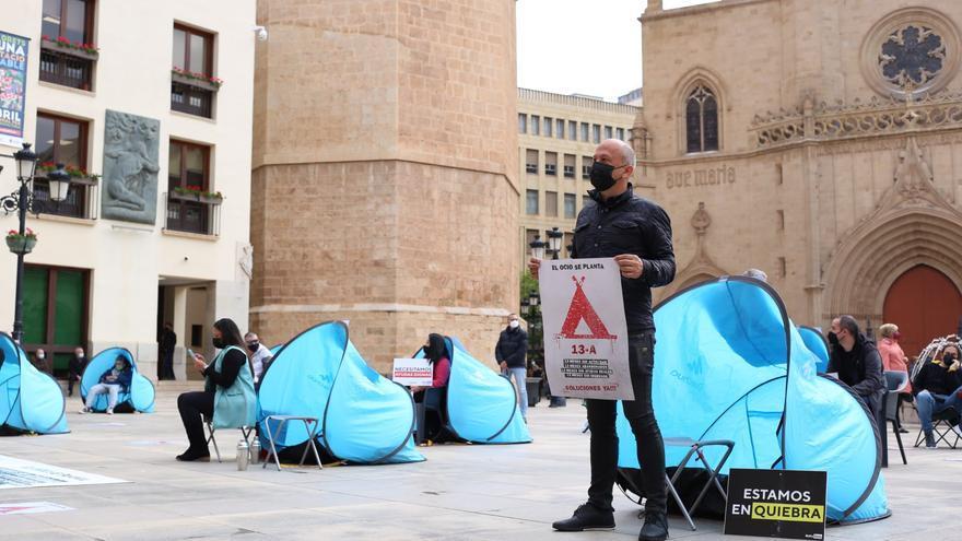 Las fotos de la acampada del ocio de Castellón