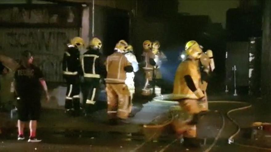 Un incendio eléctrico causa grandes desperfectos en la sala de conciertos es Gremi de Palma