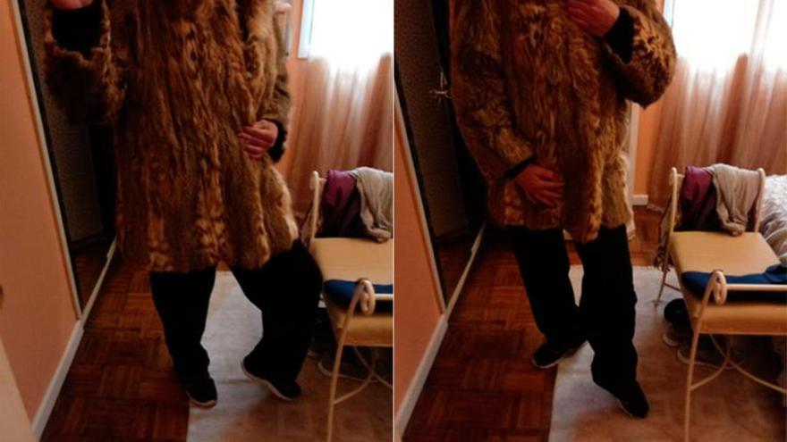 Un vecino de Celanova vendía online un abrigo de lince ibérico por 3.000 euros