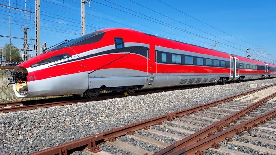 El primer tren d'ILSA d'alta velocitat començarà aquesta setmana les proves en la línia Figueres-Perpinyà