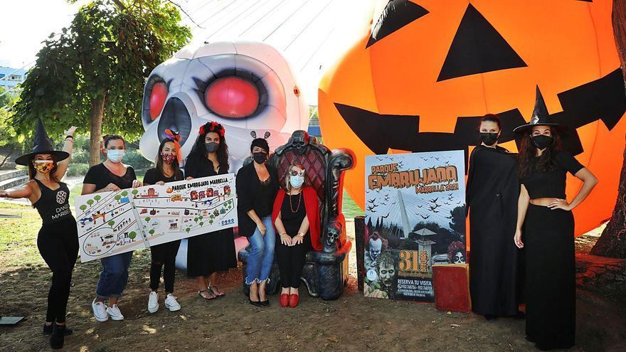 Clamor contra la reserva de plazas en el Halloween municipal de Marbella