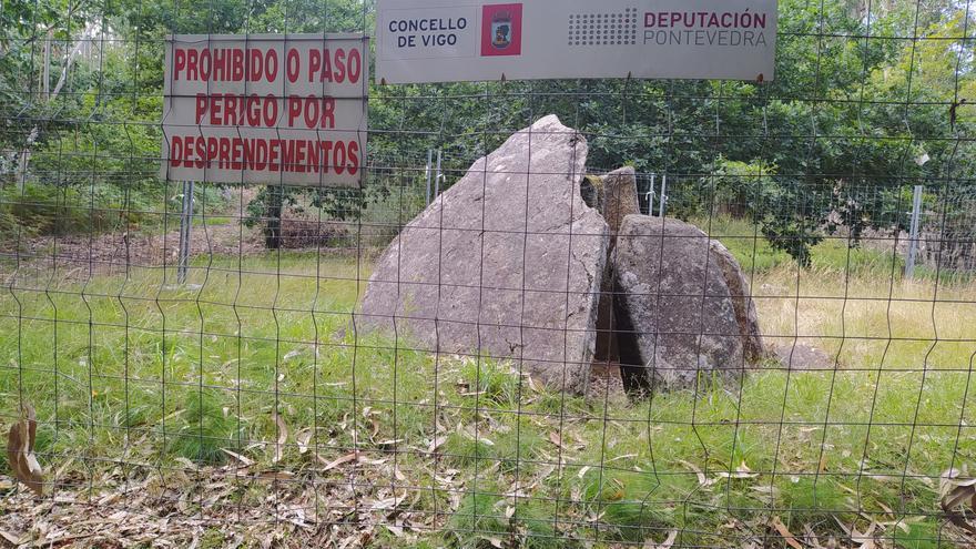 Una joya arqueológica vallada