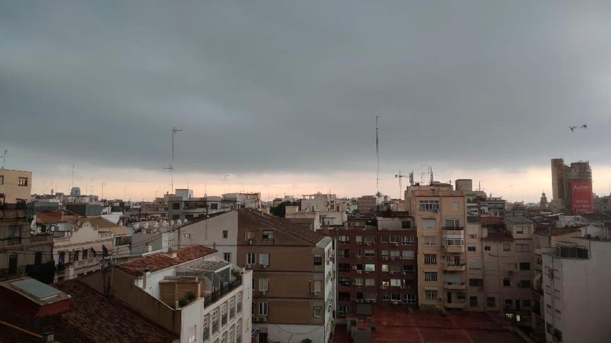 Tiempo inestable en Valencia para el inicio de semana