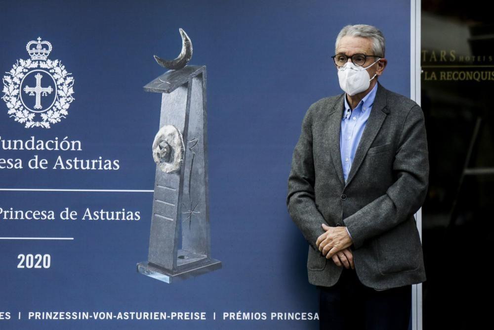 Premios Princesa: Llegada de los premiados