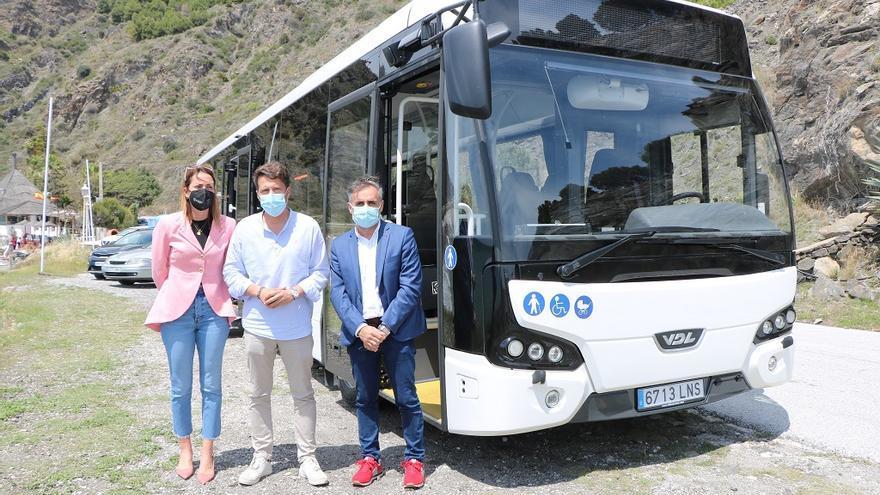 El transporte público será gratuito para todos los empadronados en Torrox