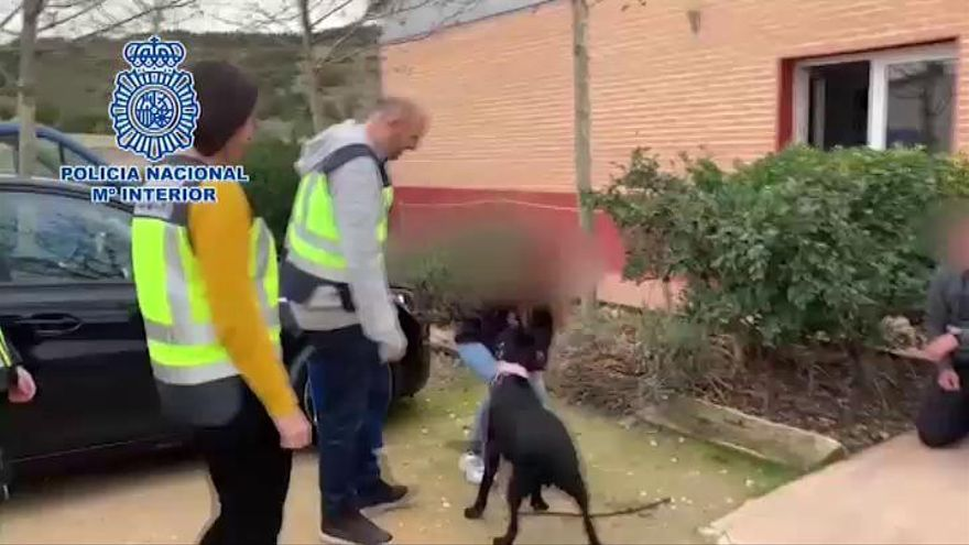 El entrenador de la perra 'Pocahontas', detenido por simular su robo