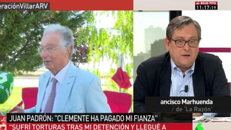 Marhuenda responde al columnista de El País que criticó a los tertulianos