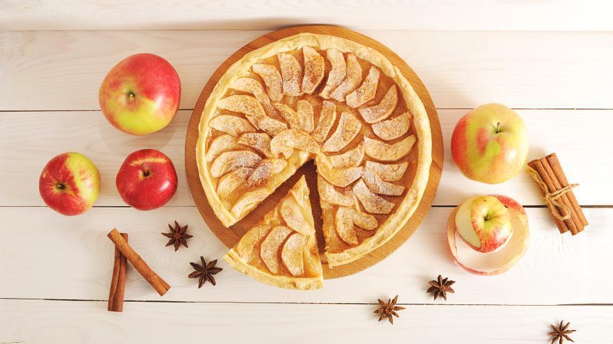 Charlota de manzana