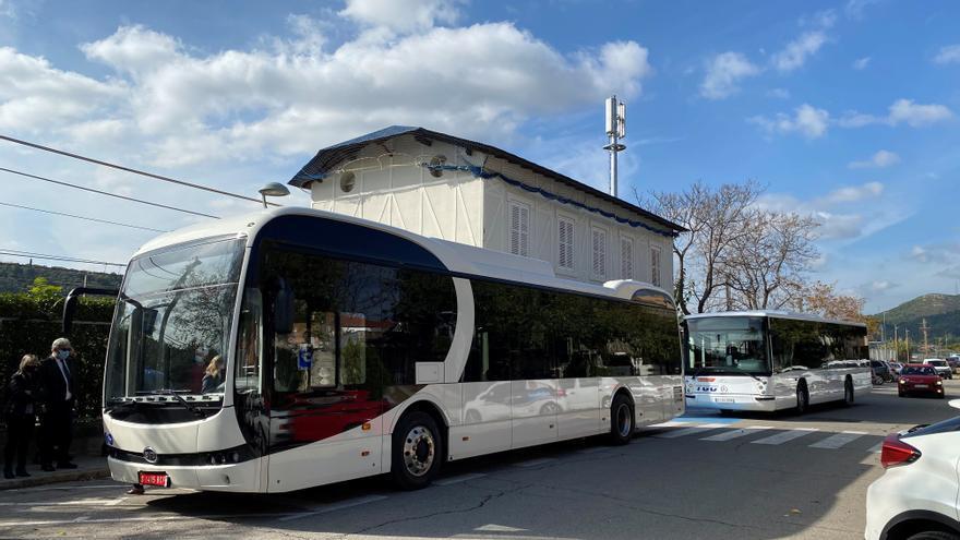 L'estació d'Olesa de FGC serà de les primeres que tindrà busos elèctrics