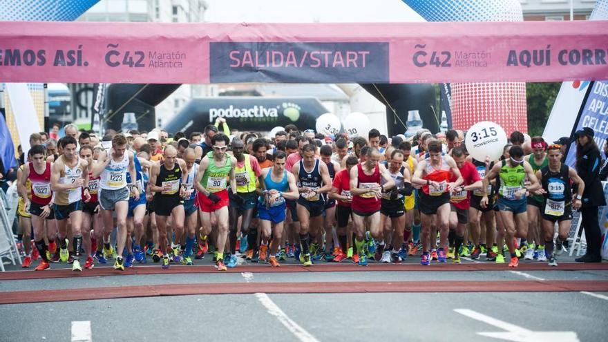 Las inscripciones de maratón Coruña42 y medio maratón Coruña21 abren mañana