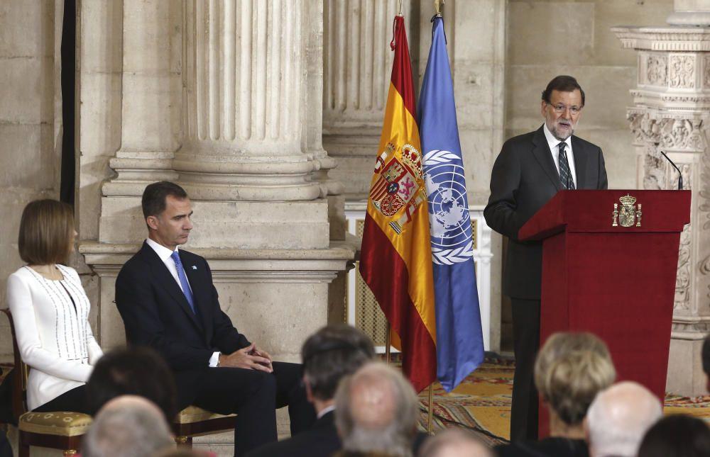 Con Mariano Rajoy