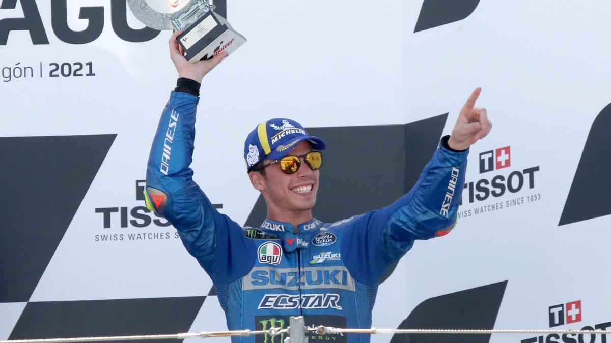 Marc Marquez acaba segundo en el GP de MotoGP de Aragón