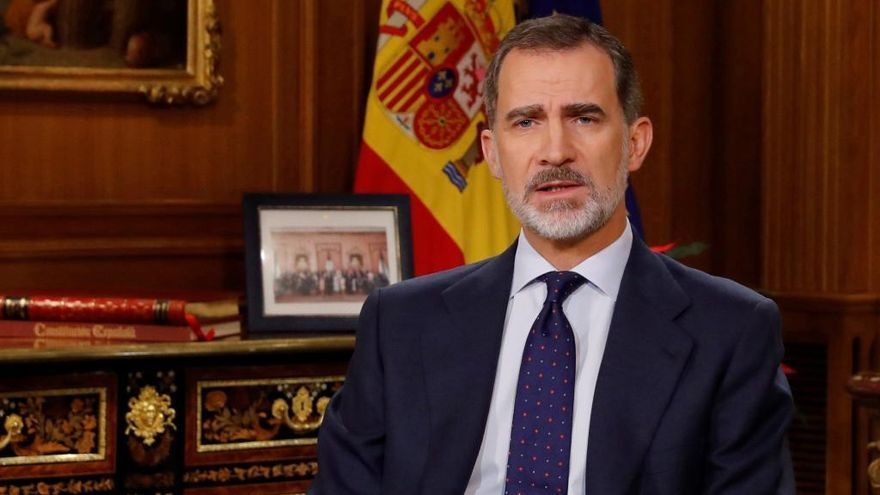 El Rey dirigirá hoy un mensaje a la Nación sobre la crisis
