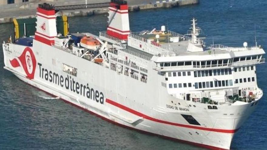 Trasmediterránea fleta un barco con oxígeno sanitario para el Hospital Can Misses