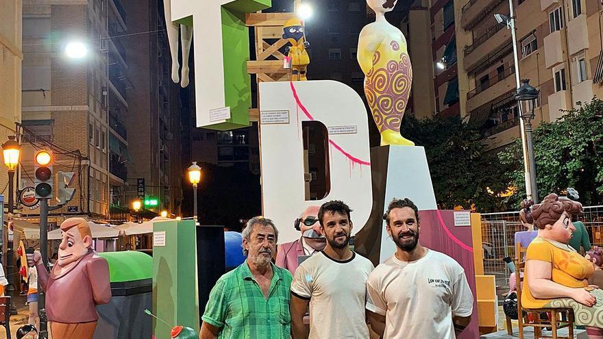 'In memoriam' del artista fallero Fernando García