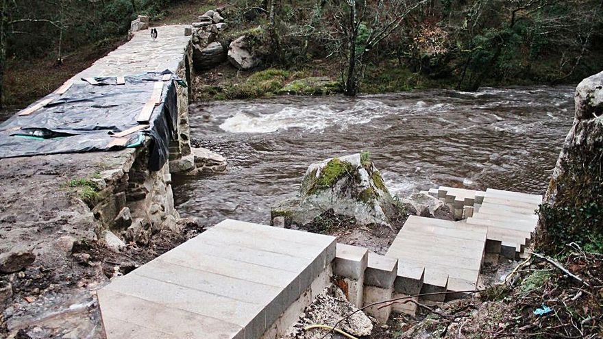 """El arquitecto defiende la escalera de Ponte dos Cabalos como """"un avance"""" para la puesta en valor del conjunto"""