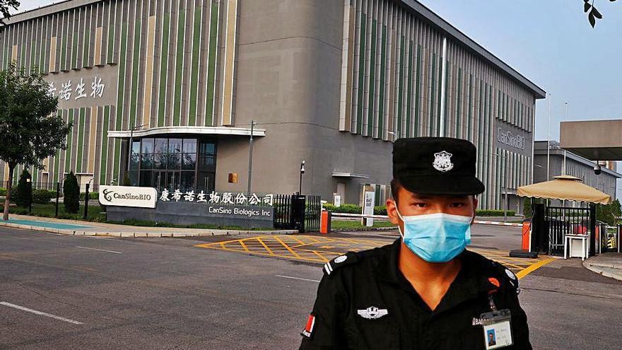 China aprueba la patente de una vacuna contra el Covid-19 aún en fase de pruebas