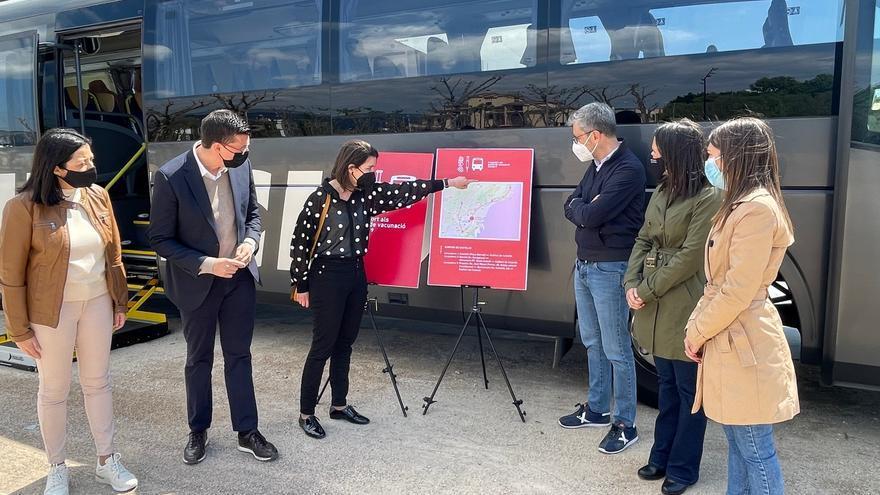 Sanitat abrirá 25 puntos de vacunación en Castellón por los retrasos en la llegada de dosis
