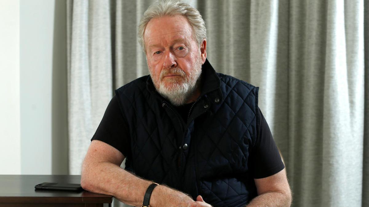 El director Ridley Scott.