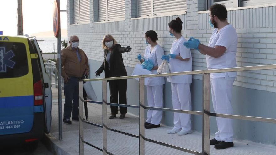 """Coronavirus en Vigo: La """"emigración"""" de los residentes sanos de Barreiro"""