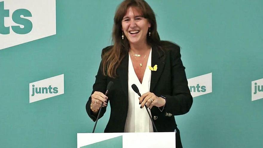 Borràs, candidata de JxCat a les eleccions