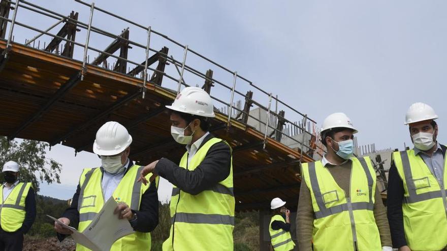 Cabrianes recuperarà la connexió pel nou pont ampliat al mes de setembre