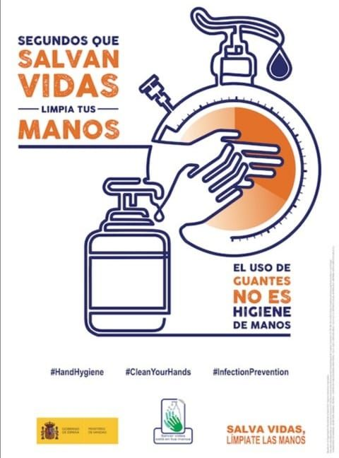 Los hospitales públicos canarios conmemoran el Día Mundial de la Higiene de Manos
