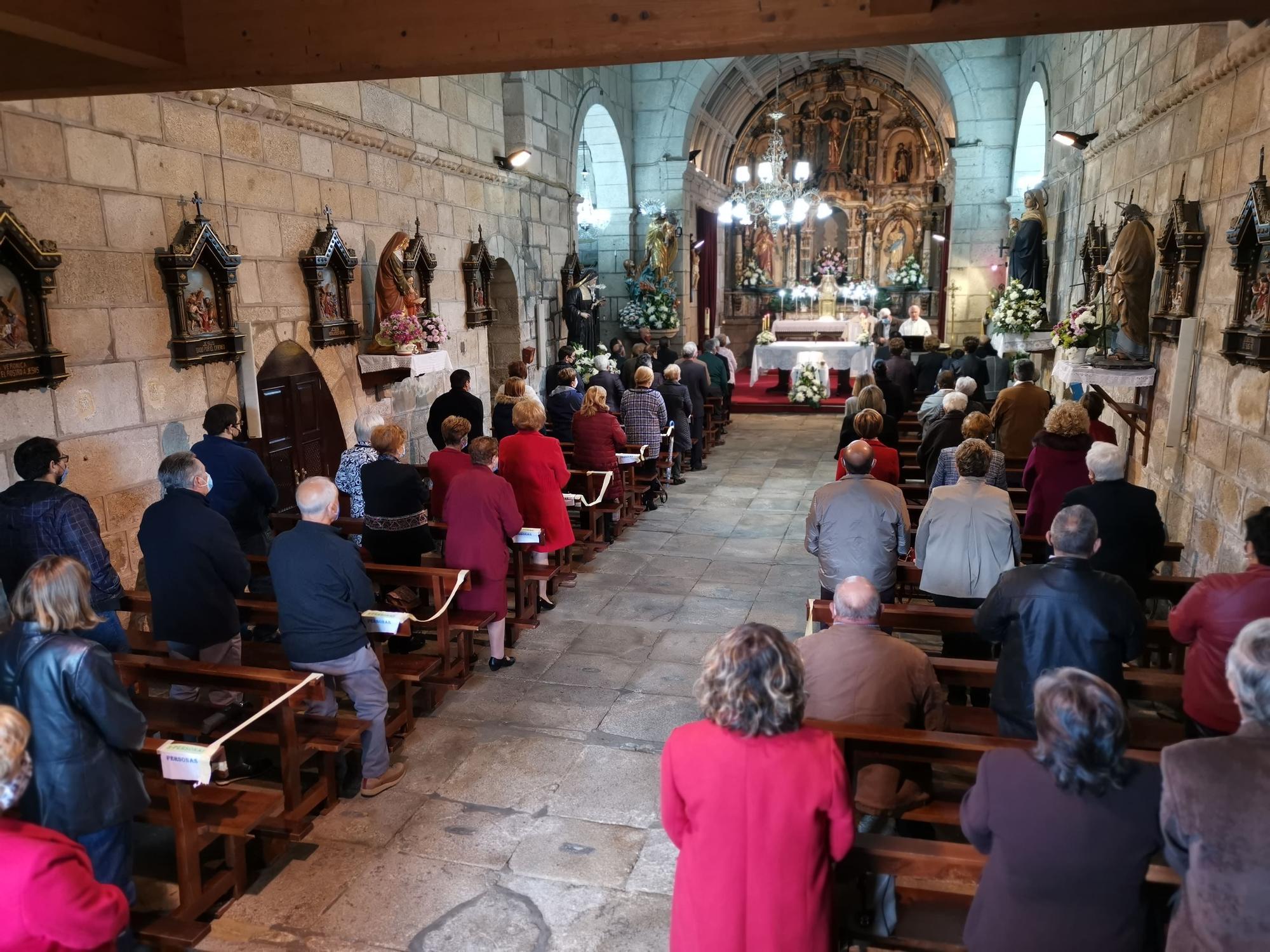 La misa de San Martiño en Moaña
