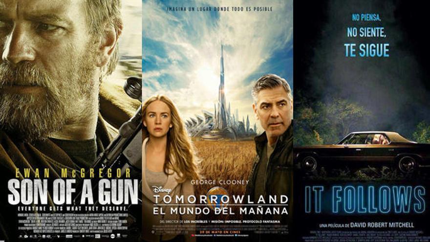 Clooney en 'Tomorrowland' y el terror de 'It Follows', en los cines