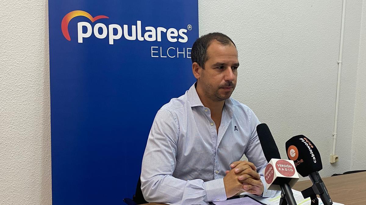 El portavoz adjunto del PP, José Navarro