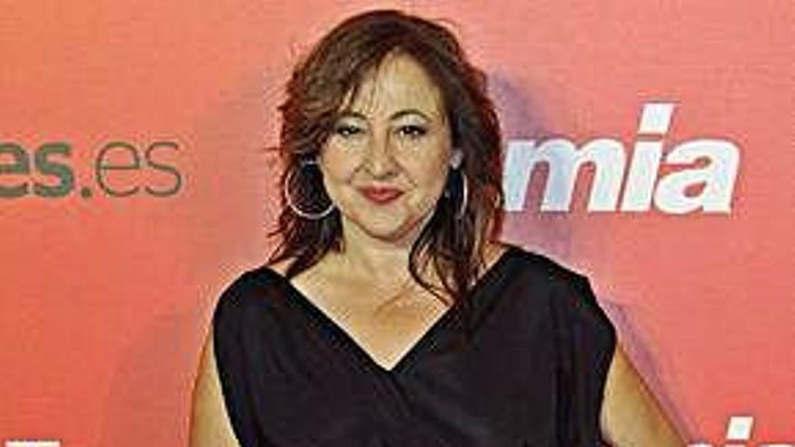 Carmen Machi recibe un premio a toda su trayectoria