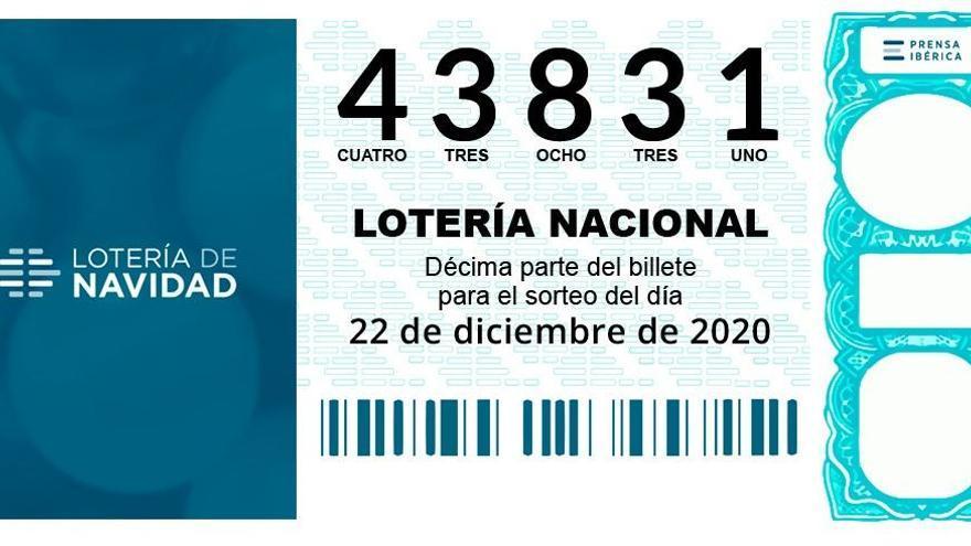 Un cinquè premi (43831) deixa 60.000 euros a Salt