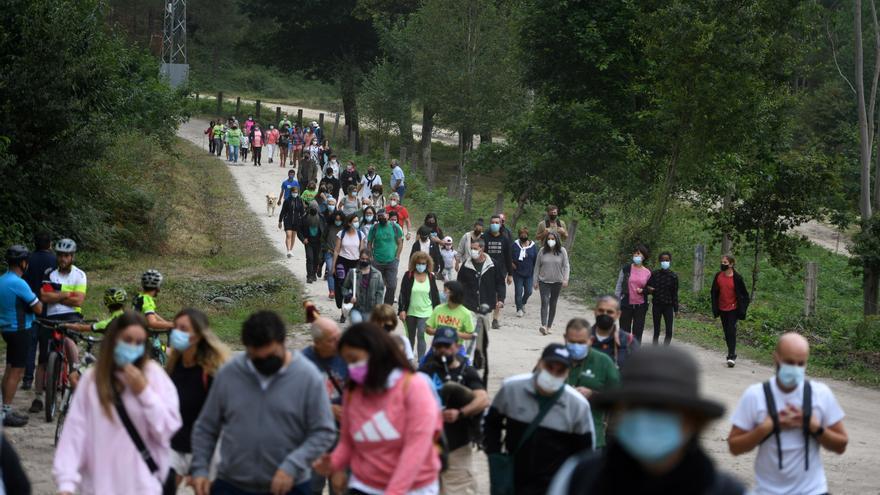 El BNG pide a la Xunta que suspenda la tramitación del parque eólico de Castrove