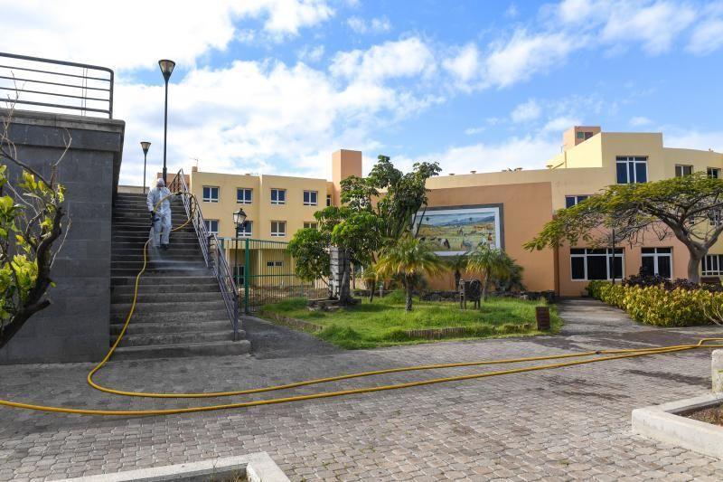 21-03-20 GRAN CANARIA. AGUIMES CASCO. AGUIMES. Actuación de la UME en Aguimes.   Fotos: Juan Castro.  | 21/03/2020 | Fotógrafo: Juan Carlos Castro