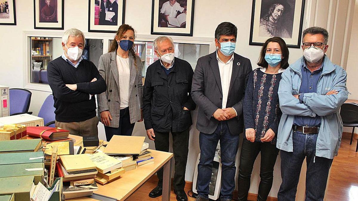 José Antonio Cerezo, Soledad Raya, Manuel Ruiz Luque, Rafael Llamas, Elena Bellido y José Luis Casas.