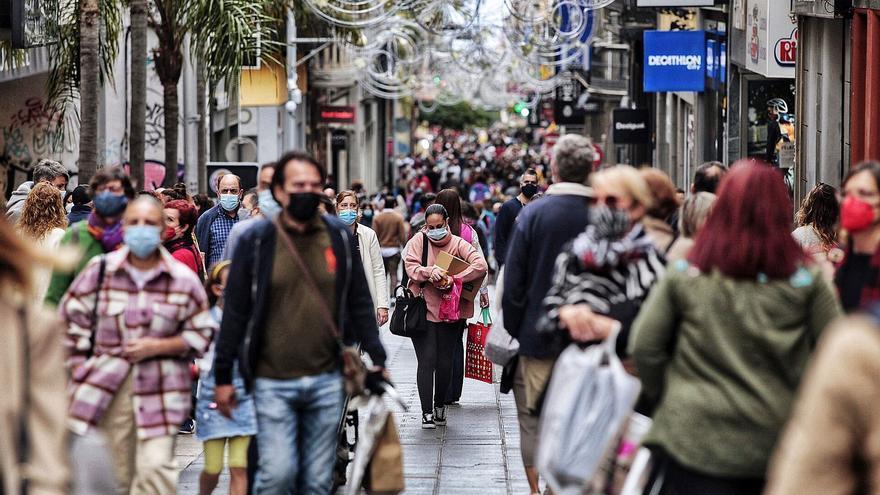 Tenerife multiplica por 5 el aumento de población de Gran Canaria