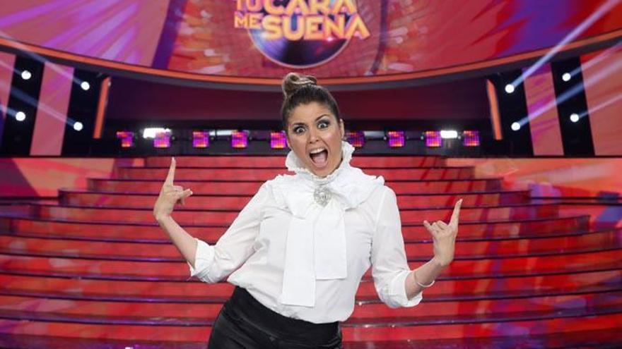 Cristina Ramos se mete en la piel de Shakira en 'Tu Cara Me Suena'