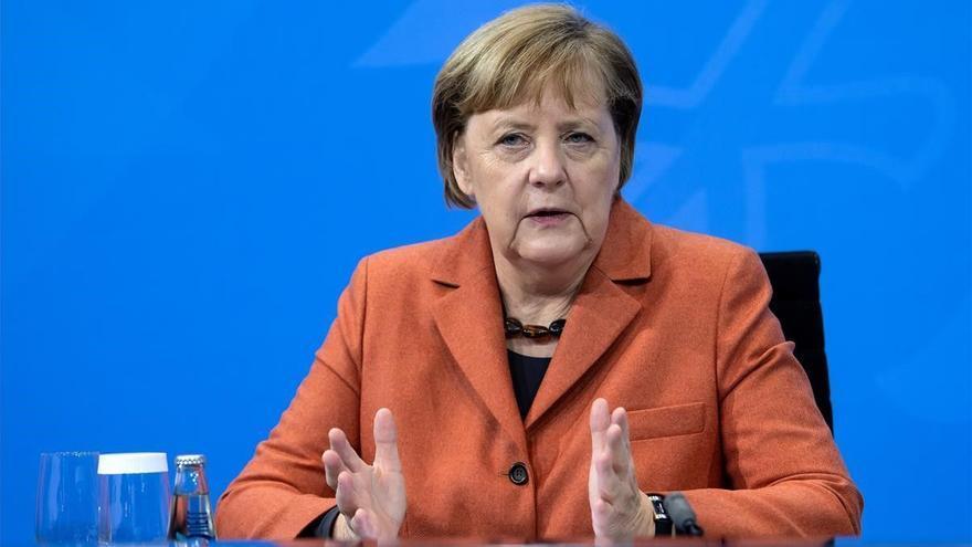 Angela Merkel, galardonada con el Premio Europeo Carlos V