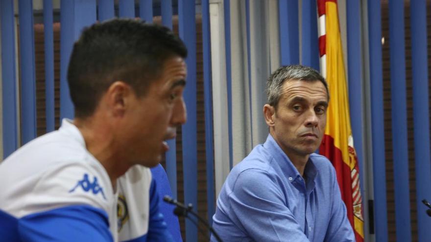 """Pedro Sánchez: """"El reto del Hércules vale más que otras ofertas de 2ª A"""""""